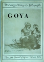 Goya: Drawings, Etchings and Lithographs.