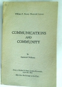 Communications and Community.