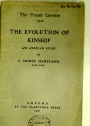 The Evolution of Kinship. An African Study.