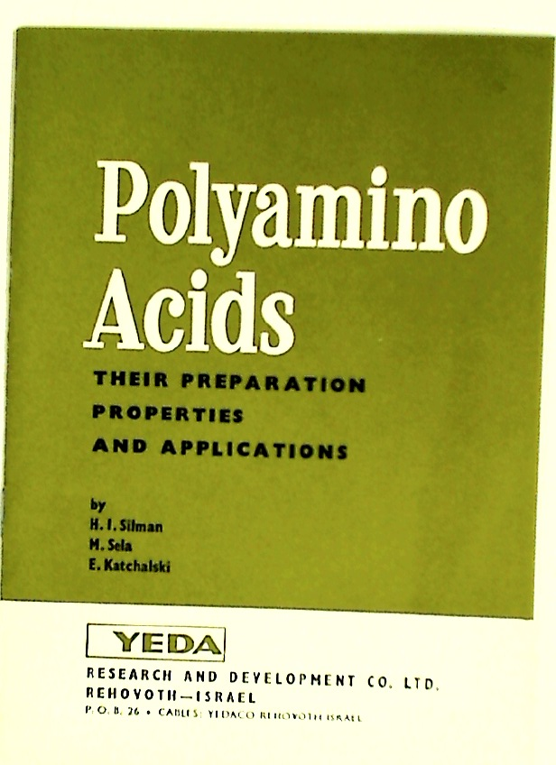 Polyamino Acids. Their Preparation, Proterties and Applications.
