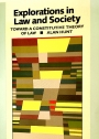 Explorations in Law and Society: Toward a Constitutive Theory of Law.