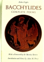 Bacchylides: The Complete Poems.