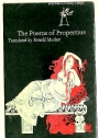 The Poems of Propertius. Translated by Ronald Musker.