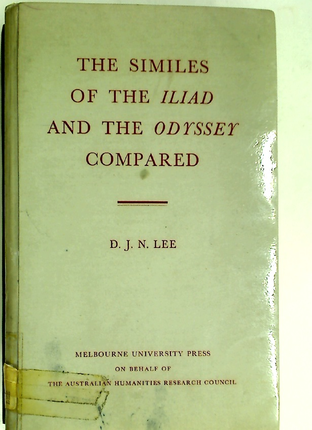 The Similes of the Iliad and the Odyssey Compared.