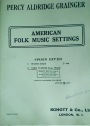 American Folk Music Settings. Spoon River. Two Pianos Four Hands.