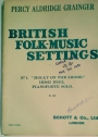 British Folk-Music Settings. Nr 1: Molly on the Shore. Irish Reel. Pianoforte Solo.