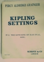 Kipling Settings. Nr 11: The Love Song of Har Dyal. Song.