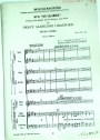 British Folk-Music Settings. Nr 13: Sir Eglamore. Freely set for Double Mixed Chorus and Band. Vocal Score. Revised Edition.