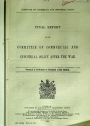 Final Report of the Committee on Commercial and Industrial Policy after the War.