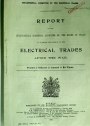 Report of the Departmental Committee Appointed to Consider the Position of the Electrical Trades after the War.