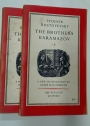 The Brothers Karamazov in Two Volumes.
