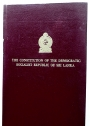 The Constitution of the Democratic Socialist Republic of Sri Lanka.