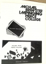 Spatial Awareness / New Conceptual Boundaries. 1980, Los Angeles Pierce College. (On Cover: Impinging)