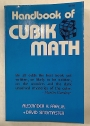 Handbook of Cubik Math.