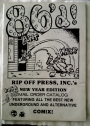 86'd! Rip Off Press, Inc.'s New Year Edition Mail Order Catalog Winter 1985 - 1986.