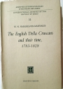 The English Della Cruscans and their Time, 1783 - 1828.