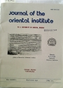 Journal of the Oriental Institute, University of Baroda. Volume 39, Nos 3 - 4.