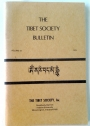 The Tibet Society Bulletin. Volume 12, 1978.