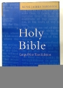 Holy Bible. King James Version. Large Print Text Edition.