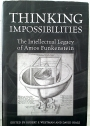 Thinking Impossibilities: The Intellectual Legacy of Amos Funkenstein.