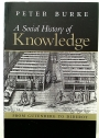 A Social History of Knowledge. From Gutenberg to Diderot.