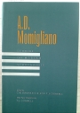 Momigliano. Studies on Modern Scholarship.