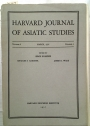 Harvard Journal of Asiatic Studies, Volume 2, Number 2, December 1937.