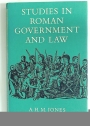 Studies in Roman Government and Law.