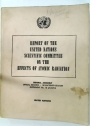 Report of the United Nations Scientific Committee on the Effects of Atomic Radiation. General Assembly. Official Records. Seventeeth Session.
