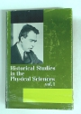 Historical Studies in the Physical Sciences. Volume 1.