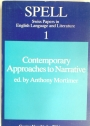 Contemporary Approaches to Narrative.