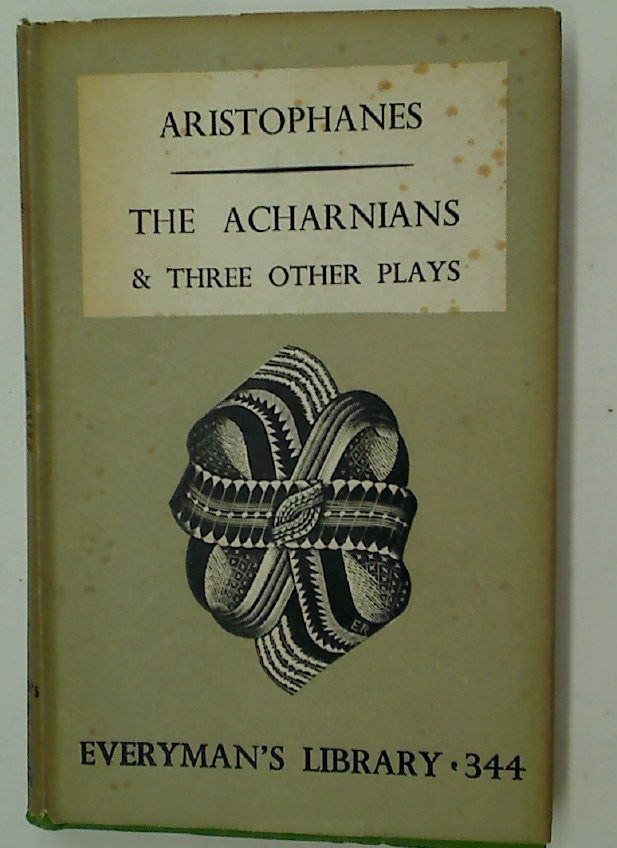 The Acharnians and Three Other Plays, The Frogs and Three Other Plays. 2 Volume Complete Set.