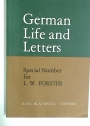 German Life and Letters. Special Number for Leonard Forster.