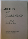 Milton and Clarendon. Two Papers on 17th Century English Historiography.