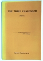 The Third Passenger (Poems). First Edition.