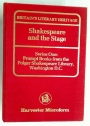 Shakespeare and the Stage. Prompt Books from the Folger Shakespeare Library.