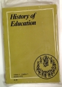 The History of Education, Volume 1, No 1, January 1972 and No 2, June 1972.