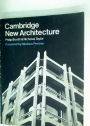 Cambridge New Architecture. Foreword by Nikolaus Pevsner.