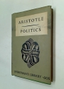 The Politics of Aristotle or a Treatise on Government. Translated by William Ellis.