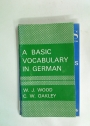 A Basic Vocabulary in German.