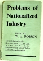 Problems of Nationalized Industry.