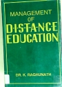 Management of Distance Education: A Case Study of APOU.