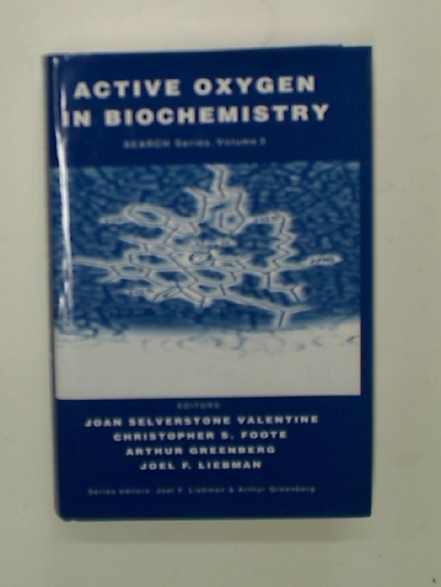 Active Oxygen in Biochemistry.