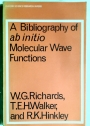 A Bibliography of Ab Initio Molecular Wave Functions.