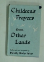Children's Prayers from Other Lands.